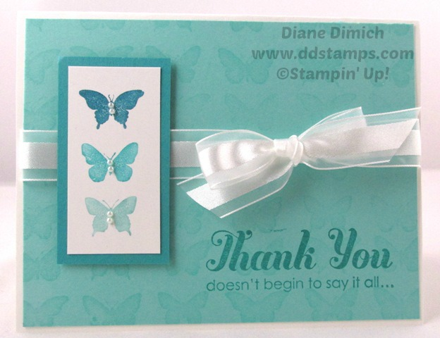 Stampin' Up! Butterfly Wheel Card