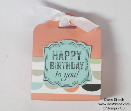 Stampin' Up! Tag Topper Punch