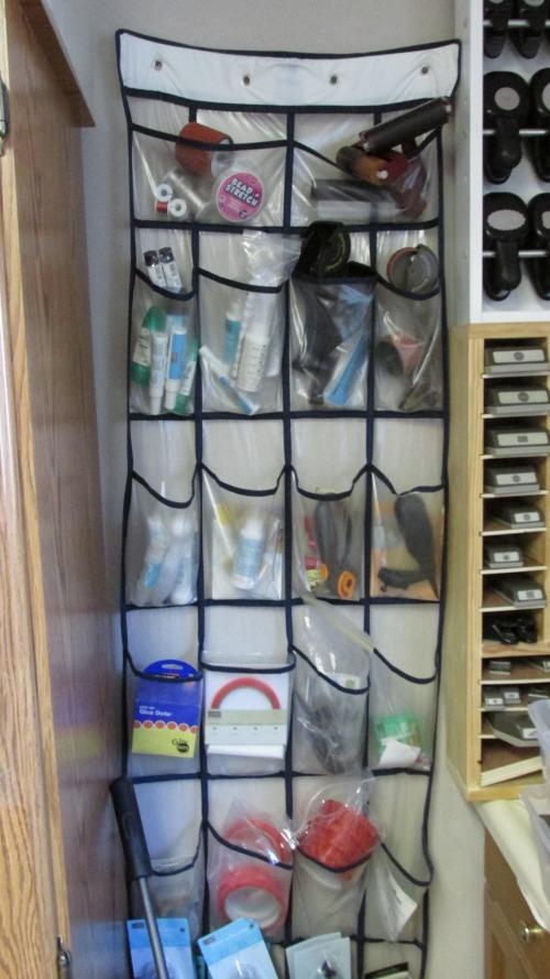 Stampin' Up! Stamp Room Organization Door Hanger