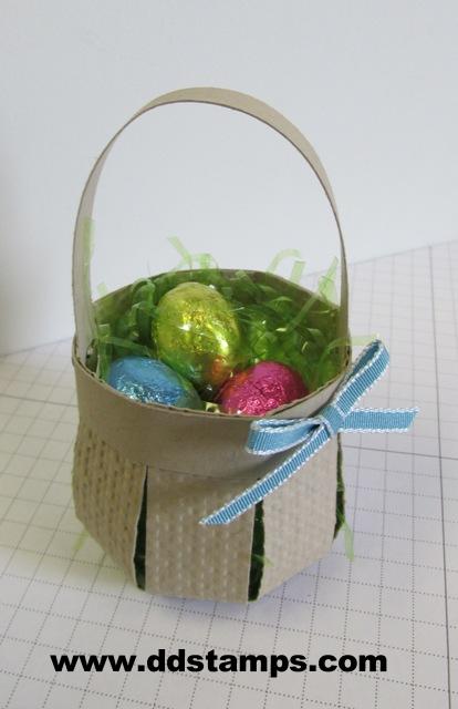Stampin' Up! Easter Basket