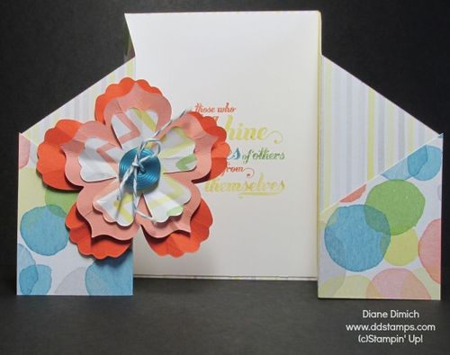 Stampin' Up! Watercolor Wonder Gatefold card