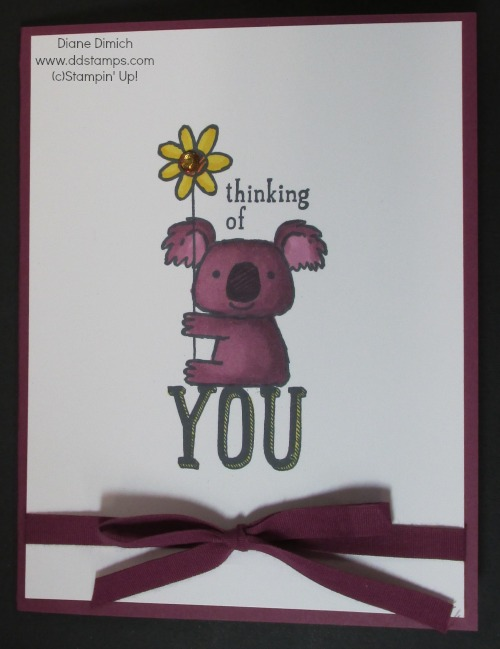Stampin' Up! Blendabilities Kind Koala