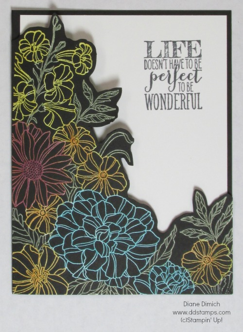 Stampin' Up! Corner Garden Blendabilities