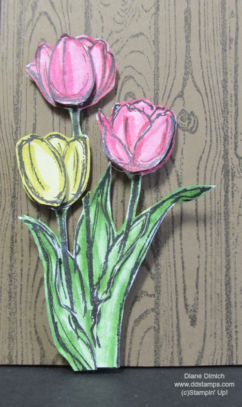 Stampin' Up! Blessed Easter Hardwood