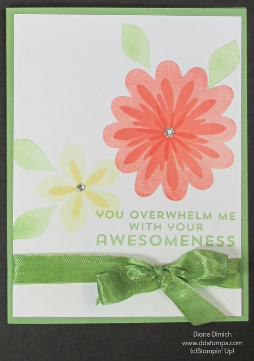 Stampin' Up Flower Patch