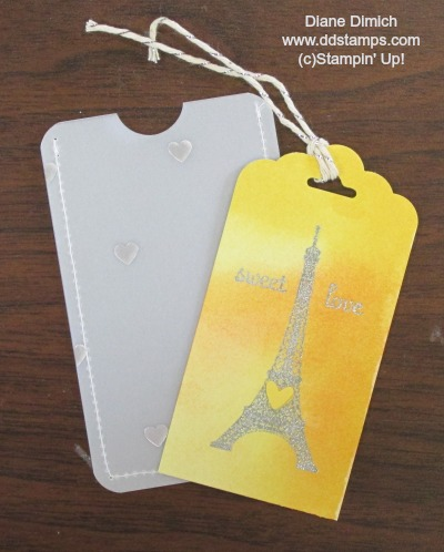 Stampin' Up! Scalloped Tag Topper Punch