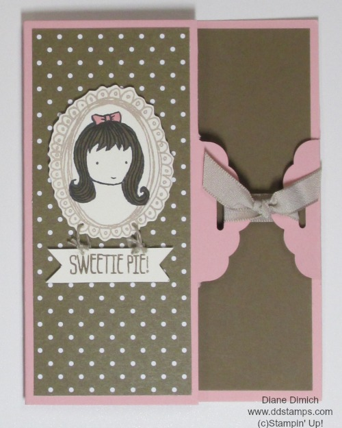 Stampin Up sweetie pie