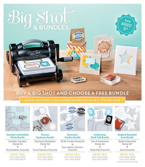 Stampin' Up! Big Shot promotion