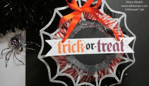 Stampin' Up! Frightful Wreath embellishment