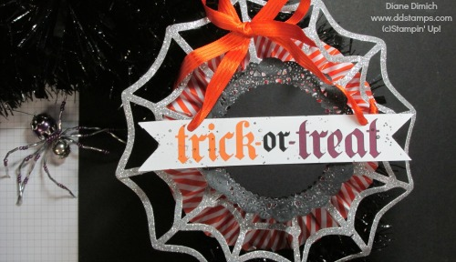Stampin' Up! Frightful Wreath embellishment