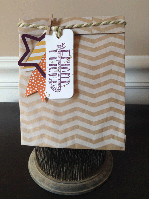 Stampin' Up! Banner Blessings Photopolymer Stamp Set
