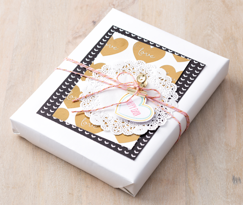 Stampin' Up! Filled with Love Paper pumpkin