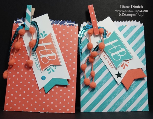 Stampin' Up! Mini Treat Bag Thinlits