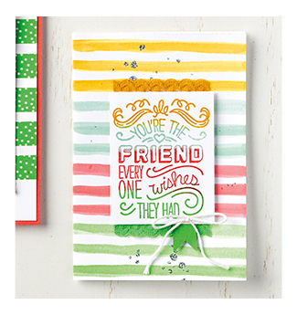 Stampin' Up! Friendly Wishes