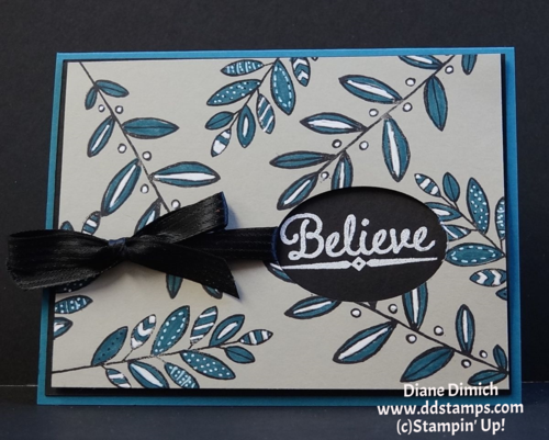 Stampin' Up! Lighthearted Leaves