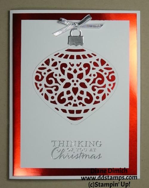 Stampin' Up!'s Embellished Ornament