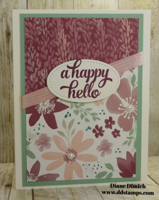 Stampin' Up! Blooms and Bliss One Sheet Wonder