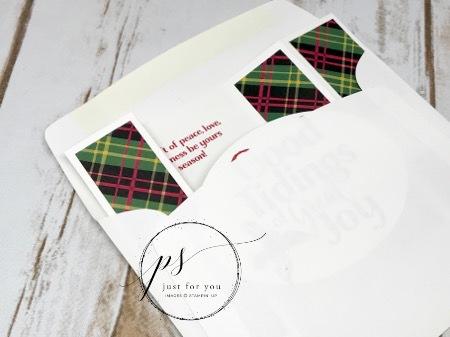 Card in envelope