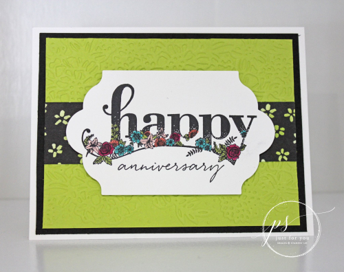 Stampin' Up Happy Wishes
