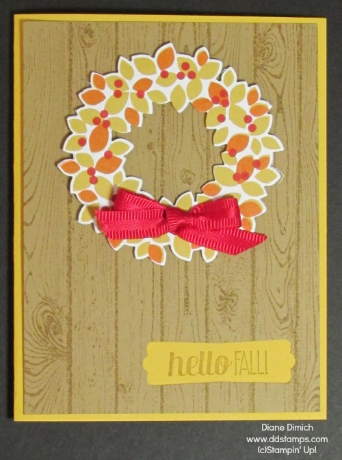 Stampin' Up! Wonderous Wreath and Framelits 2