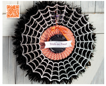 Stampin' up frightful wreath simply created kit