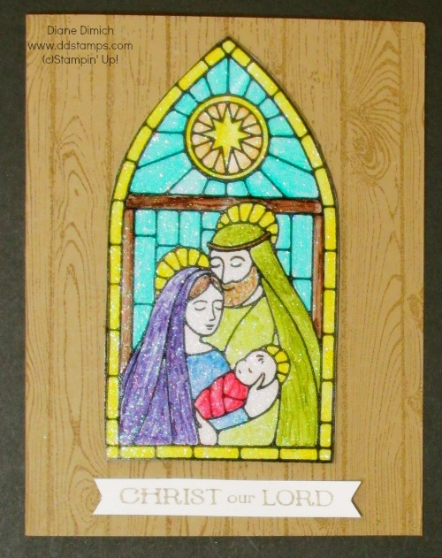 Stampin' Up! Stainglass