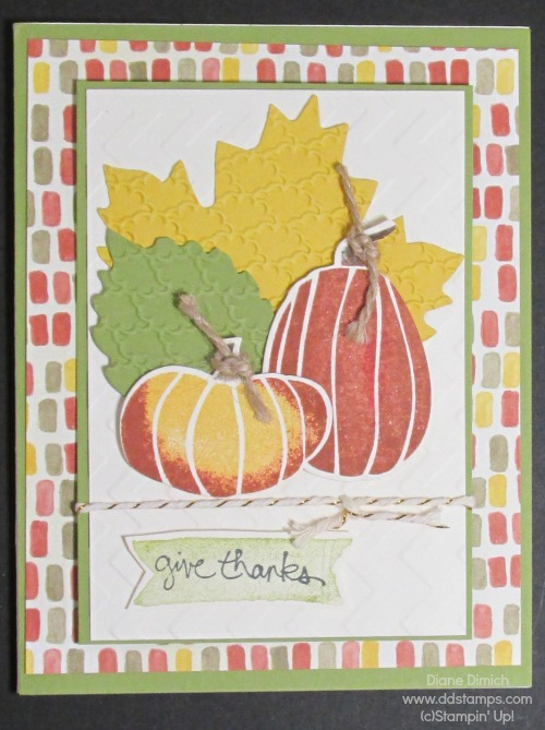 Stampin' Up! Fall Fest