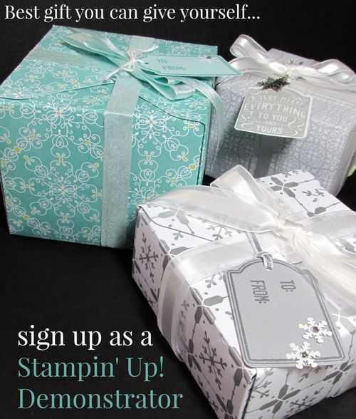 Stampin' up demo