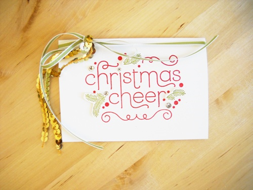 Stampin' Up! Cheerful Christmas