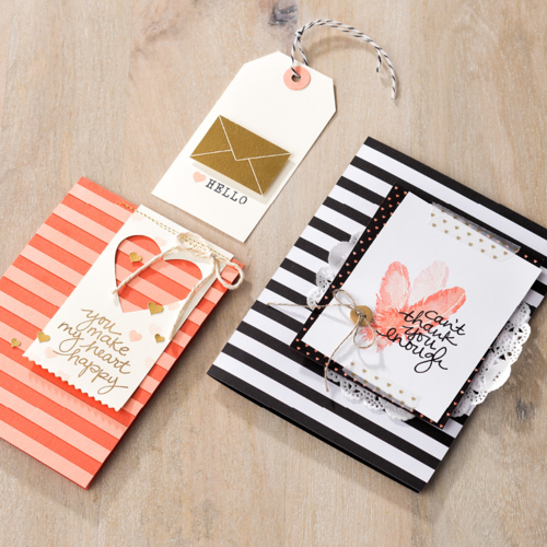 Stampin' Up Lovely Amazing you