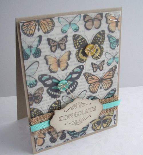 Stampin' Up! Saleabration sheer perfection vellum