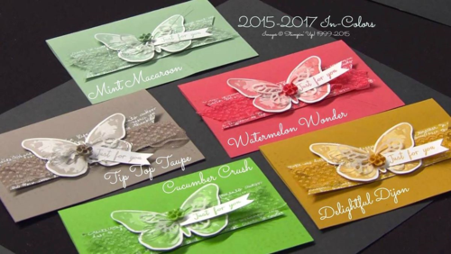 Stampin' Up! New In Colors