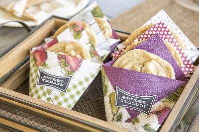 Stampin' Up! Farmers Market Cookie holders