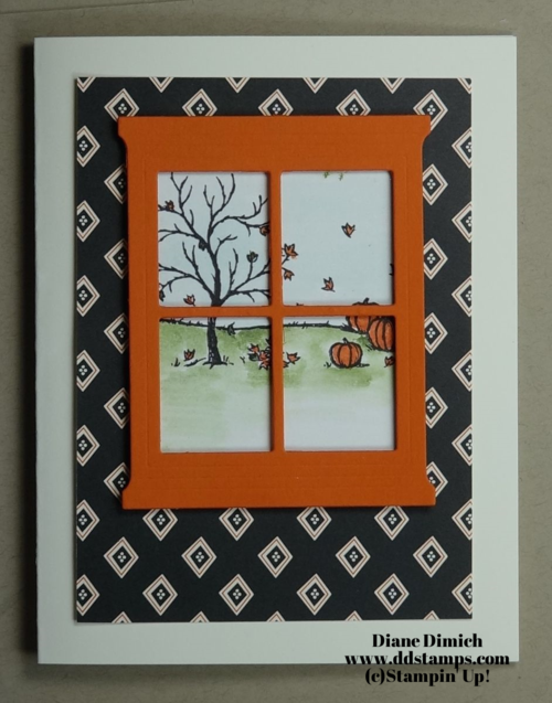 Stampin' Up! Happy Scenes Greeting card