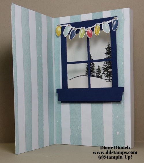 Stampin' Up! happy scenes card