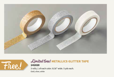 Stampin' Up! Metallics Glitter Tape