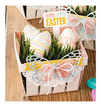Stampin up easter gift basket ddstamps with diane dimich image from stampinup negle Image collections