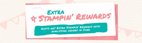 Stampin' Up! Extra Host Rewards