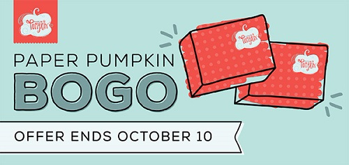 Stampin' Up! Paper pumpkin