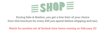 Shop Stampin' Up!'s Sale-a-bration