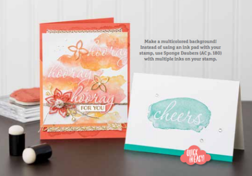 Stampin' Up! Sale-a-bration Reserve Words