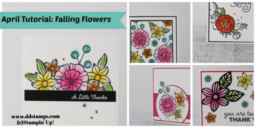 April Tutorial Falling Flowers