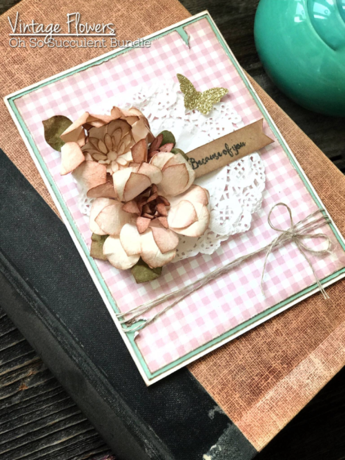 Stampin' Up! Oh. So Succulent