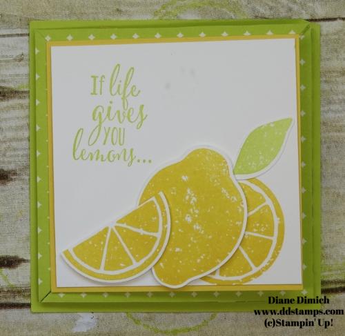 Stampin' Up! Lemon Zest