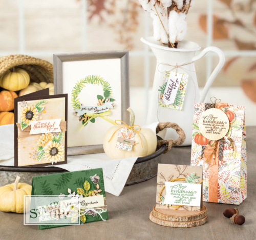 Stampin' Up! Painted Harvest Suite