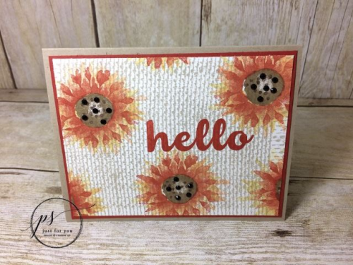 Stampin' Up!j Painted Harvest