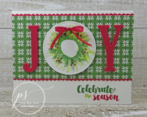 Stampin' Up! Painted Harvest Christmas
