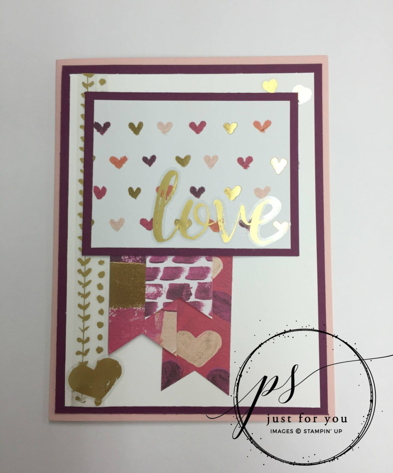 Stampin' Up! Painted With Love