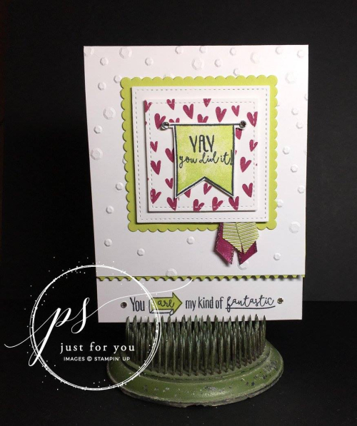 Stampin' Up! Yay You Card