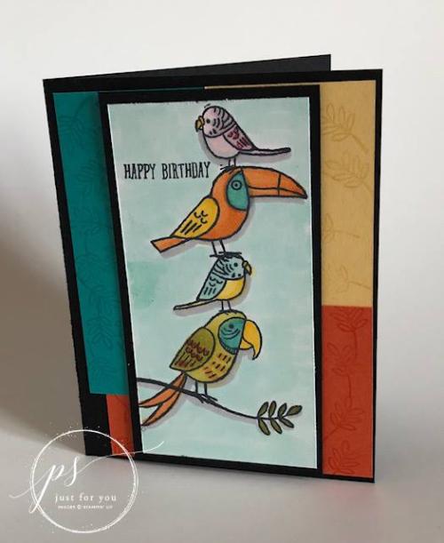 Stampin' Up! Bird Banter 3
